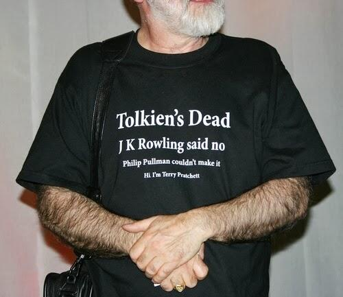 t pratchett t shirt