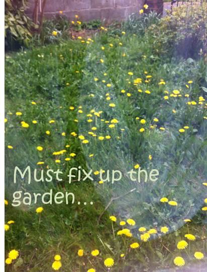 must fix the garden